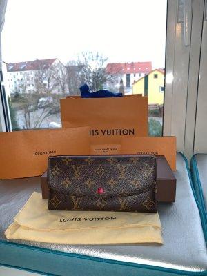Louis Vuitton Emilie Geldbeutel in Fuchsia