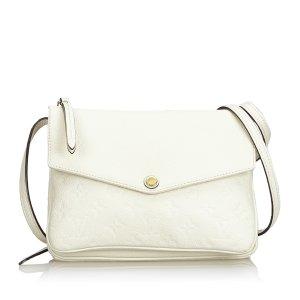 Louis Vuitton Borsa a spalla bianco Pelle