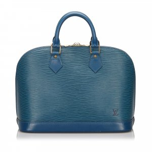 Louis Vuitton Handbag blue leather
