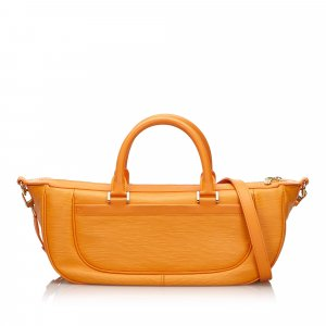 Louis Vuitton Sacoche orange cuir