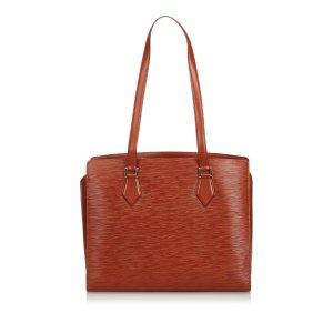 Louis Vuitton Shoulder Bag brown leather