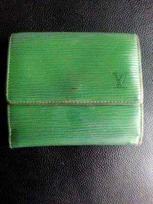 Louis Vuitton Epi Geldbörse Geldbeutel grün
