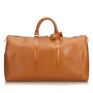 c9bc19bc55145 Louis Vuitton Epi Keepall 50