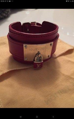 """Louis Vuitton Epi Leder Armband """" Fuchsia """" Gr17"""