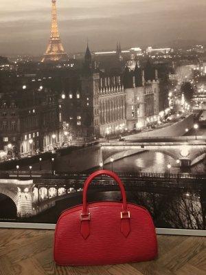 Louis Vuitton Sac à main rouge foncé