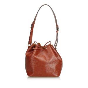 Louis Vuitton Shoulder Bag light brown leather
