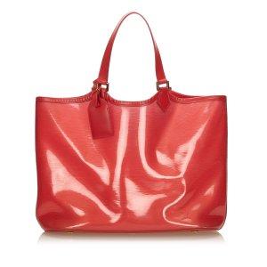 Louis Vuitton Bolso de compra rojo clorofibras