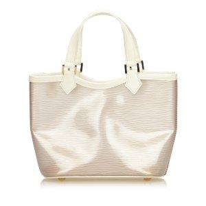 Louis Vuitton Bolso de compra blanco clorofibras