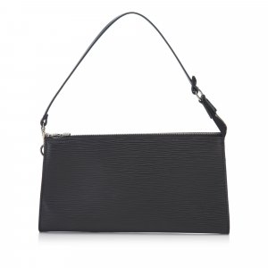 Louis Vuitton Bolso negro Cuero