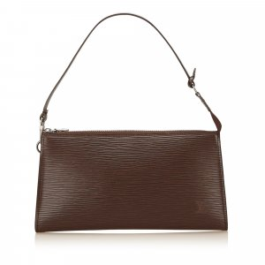 Louis Vuitton Shoulder Bag brown leather
