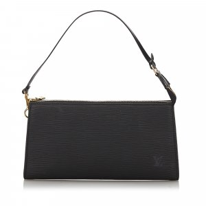 Louis Vuitton Handbag black leather