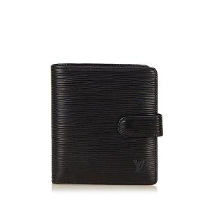 Louis Vuitton Epi Porte Billets Compact Bifold Wallet