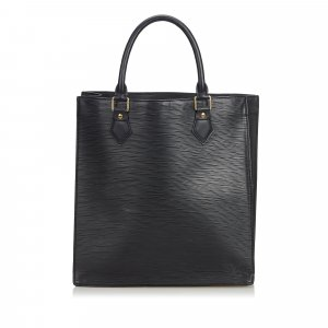 Louis Vuitton Tote black leather