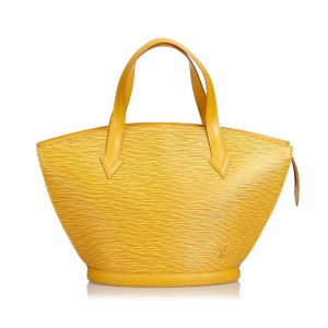 Louis Vuitton Borsetta giallo Pelle