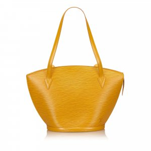 Louis Vuitton Borsa larga giallo Pelle