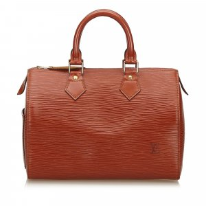 Louis Vuitton Bolso marrón Cuero
