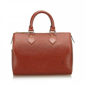 Louis Vuitton Handbag brown leather