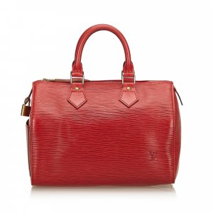 Louis Vuitton Borsetta rosso Pelle
