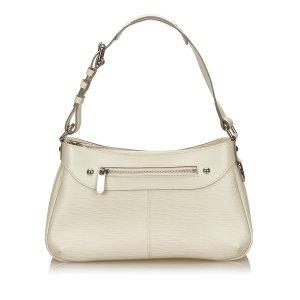 Louis Vuitton Sac porté épaule blanc cuir