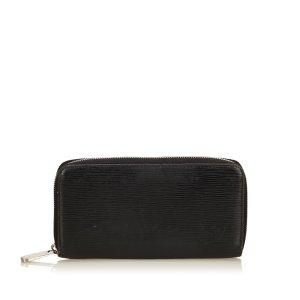 Louis Vuitton Portefeuille noir cuir