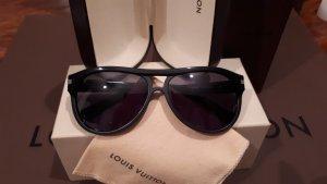 Louis Vuitton Gafas de sol ovaladas negro acetato