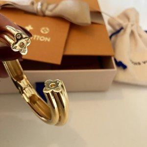Louis Vuitton Bangle gold-colored