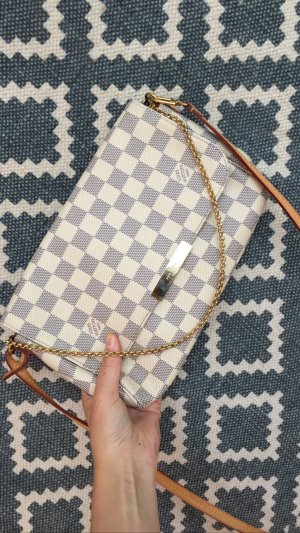 Louis Vuitton favorite mm damier azur