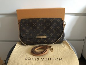 Louis Vuitton Favorite MM Monogram Bandouliere Crossbody Tasche Pochette Clutch Gurt
