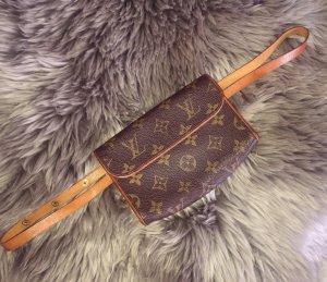 Louis Vuitton Riñonera marrón-marrón oscuro