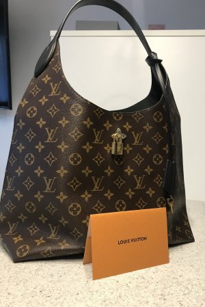Louis Vuitton Flower Hobo Monogram Noir