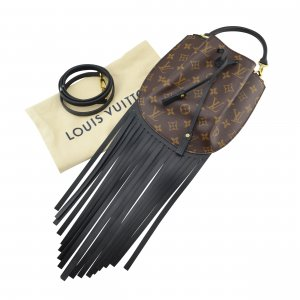 Louis Vuitton Fringed Noe GM @mylovelyboutique.com