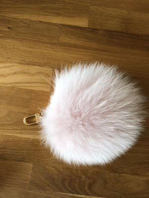 Louis Vuitton fuzzy bubble Bag charm