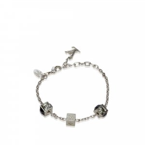 Louis Vuitton Braccialetto sottile argento Metallo