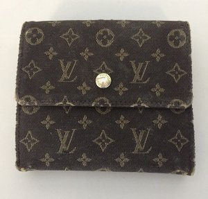 Louis Vuitton Portefeuille brun noir-bronze