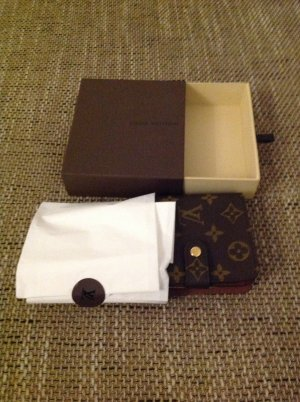 LOUIS VUITTON Geldbeutel Monogramm Canvas