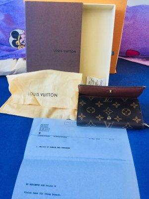 Louis Vuitton Portefeuille bronze cuir