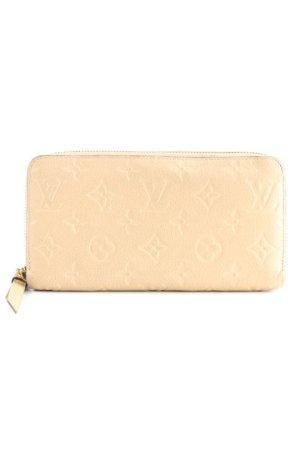 Louis Vuitton Geldbörse beige klassischer Stil
