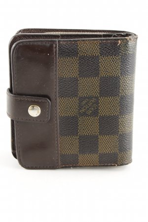 Louis Vuitton Wallet brown-light brown check pattern casual look
