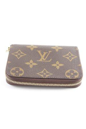 Louis Vuitton Geldbörse dunkelbraun-goldfarben Casual-Look
