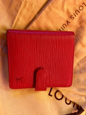 Louis Vuitton Cartera rojo
