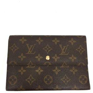 Louis Vuitton Geldbörse Geldtasche Portemonnaie Monogram Canvas