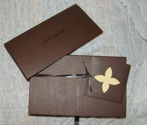 Louis Vuitton Geldbörse in originaler Verpackung - war ein Geschenk