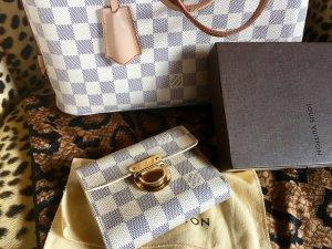 Louis Vuitton Portefeuille blanc-gris