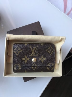 Louis Vuitton Geldbörse Mini monogram Canvas