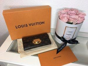 Louis Vuitton Portefeuille brun-doré
