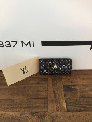 Louis Vuitton Geldbörse Multicolor schwarz mit Rechnung