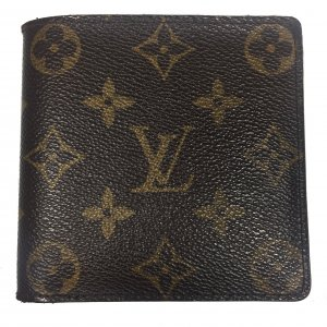 LOUIS VUITTON GELDBÖRSE PORTE BILLETS CARTES CRÉDIT MONNAIE AUS MONOGRAM CANVAS