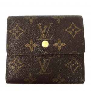 LOUIS VUITTON GELDBÖRSE PORTE-MONNAIE BILLETS CARTES CRÉDIT AUS MONOGRAM CANVAS