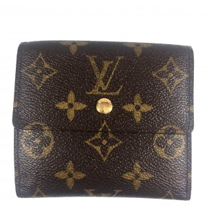 LOUIS VUITTON GELDBÖRSE PORTEMONNAIE BILLETS CARTES CRÉDIT AUS MONOGRAM CANVAS