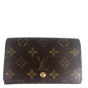 LOUIS VUITTON GELDBÖRSE PORTEMONNAIE BILLETS TRÉSOR AUS MONOGRAM CANVAS